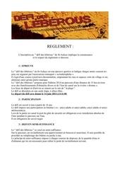 Fichier PDF reglement 2014