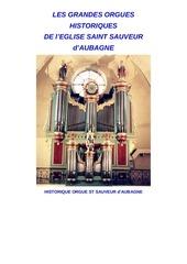 historique orgue st sauveur complet