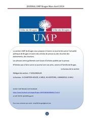 journal ump bruges mars avril 2014