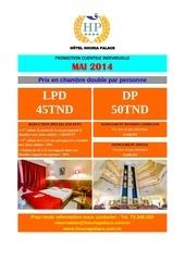 promo mai 2014 ind houria palace