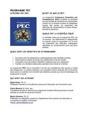3d1e programme pec ateliers 202 302