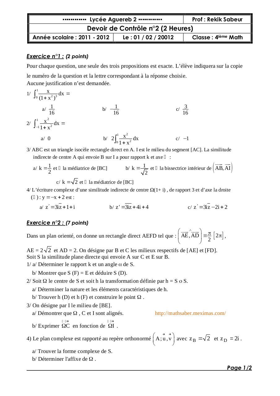 DC2-4Maths-2012.pdf - page 1/2