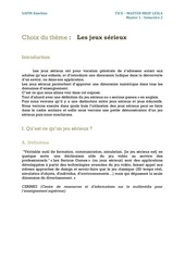 Fichier PDF expose informatique