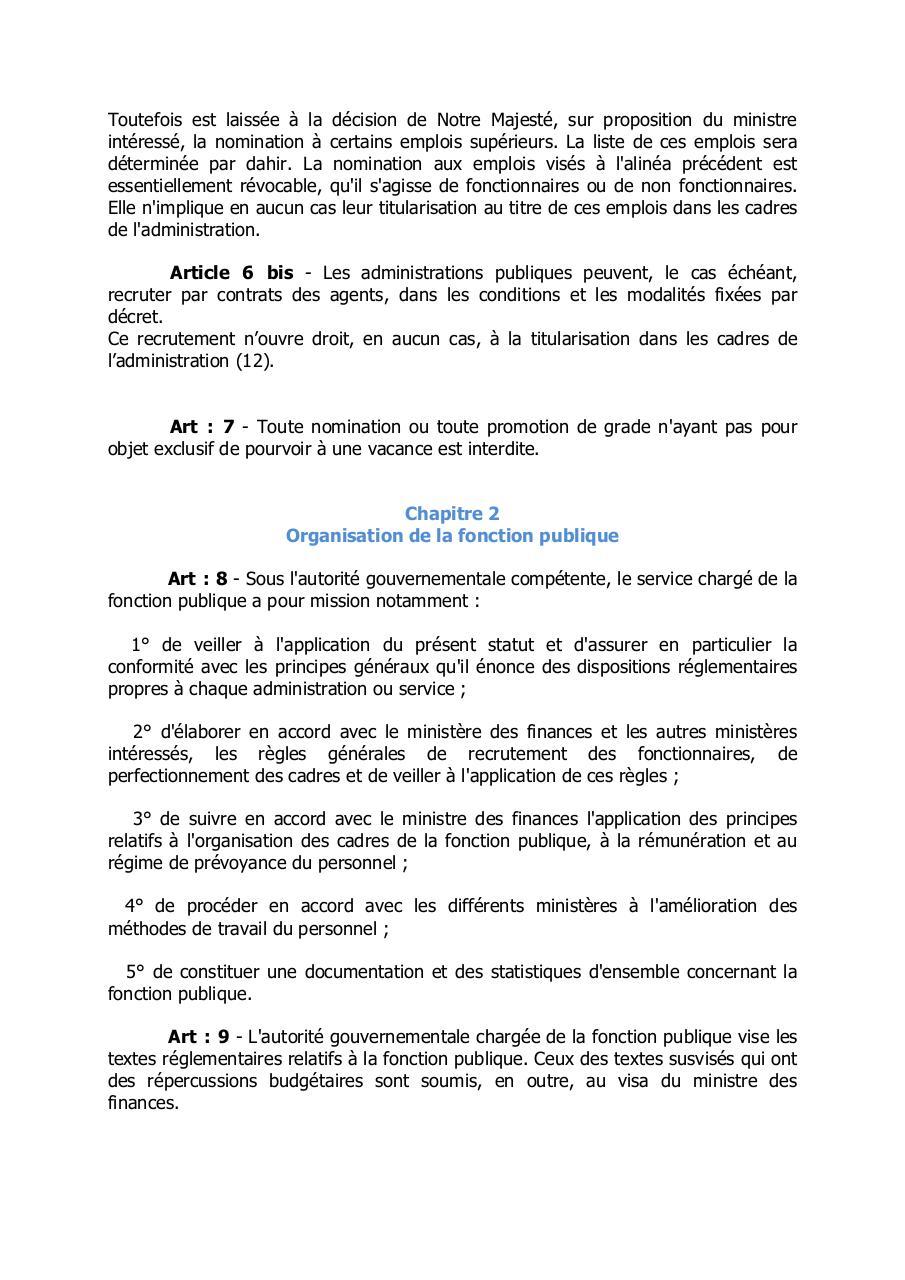 Sgfp Fr Statut De La Fonction Publiquefpfranc Pdf Fichier Pdf