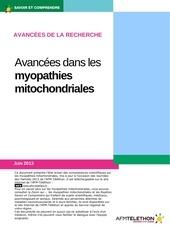 avancees dans les myopathies mitochondriales