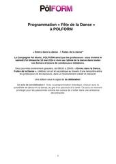 Fichier PDF fete de la danse programme lien