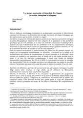 Fichier PDF les jeunes et la gestion des risques bensaid