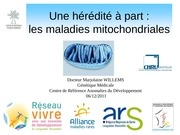 les maladies mitochondriales