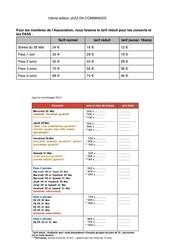 tarifs 2014 1