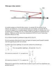 correc serie 2 avec la methode matricielle