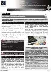 newsletter segefi n 8