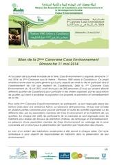 bilan caravane casa environnement 11 05 2014
