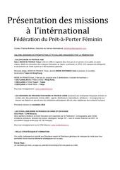 missions federation 1