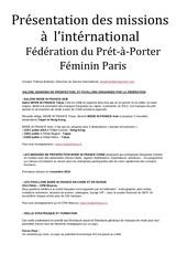 missions federation