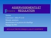 Fichier PDF asservissements www e cours com
