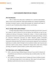 chapitre iii conversion pv