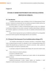 chapitre iv dimensionement des installations pv