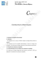 conducteurs electriques 1