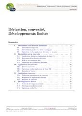 developpements limites