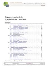 Fichier PDF espaces vectoriels applications lineaires