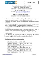 dossier inscription daguin 2014 2015