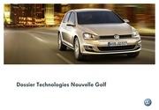 dossier technologies nouvelle golf vii