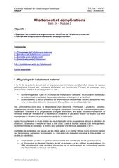 Fichier PDF gynecologie polycopie allaitement complications