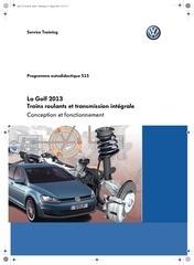 ssp 515 la golf vii 2013 trains roulants et transmission
