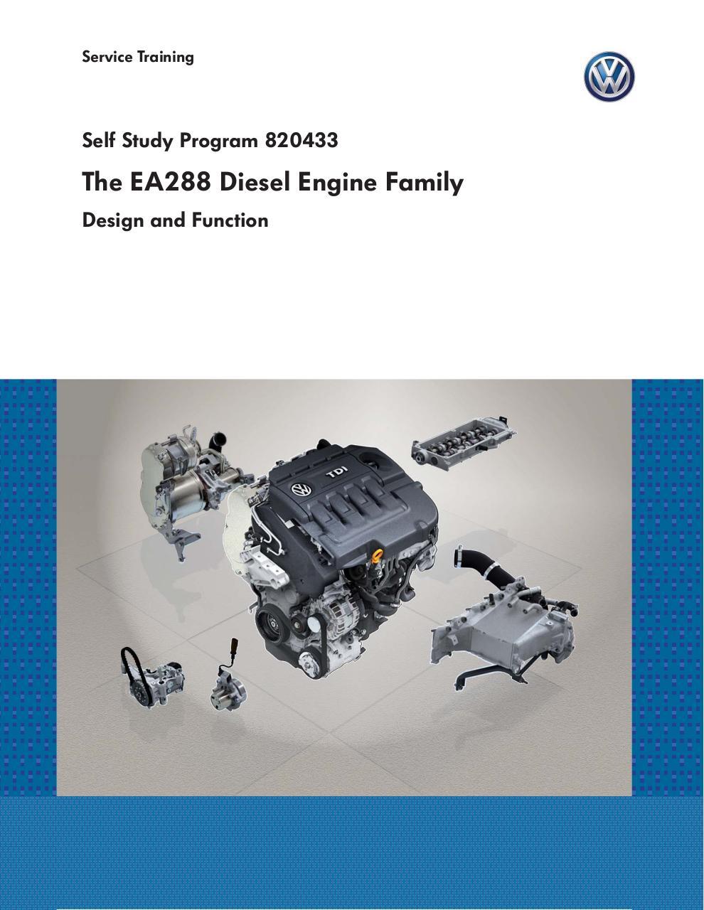 Ssp 840233 Ea288 Diesel Engine Family Par Wisniem Fichier Pdf