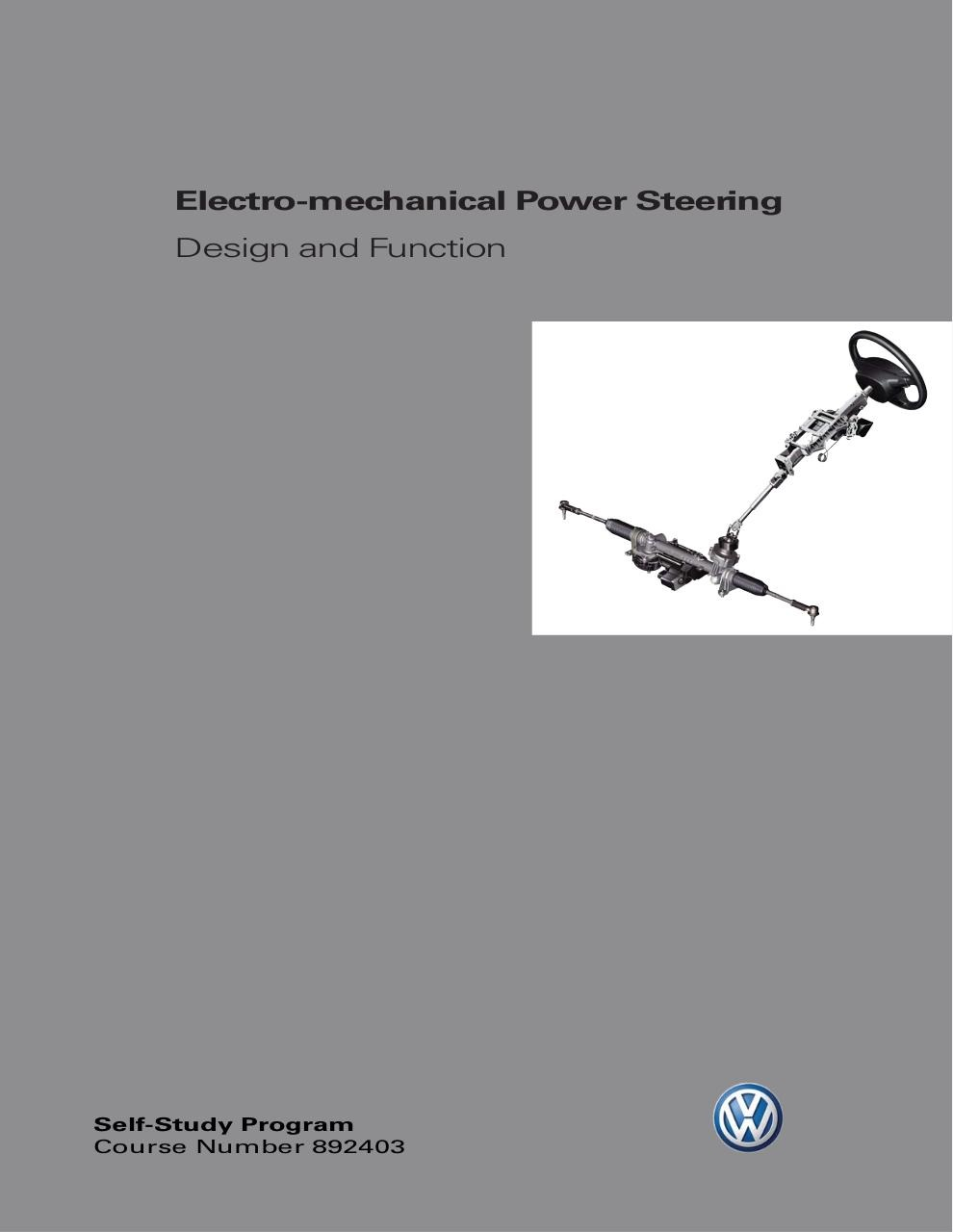 SSP 892403 Electro-Mechanical Power Steering.pdf - page 1/34