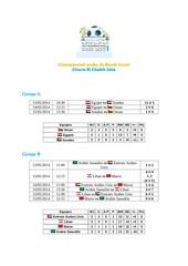 arab beach soccer championship 2014