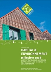 norme habitat environnement millesime 2008