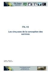 itilv3 conception 5axes
