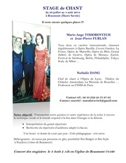 Fichier PDF annonce marie ange stage ete