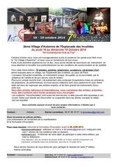 Fichier PDF appel a artistes