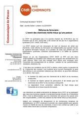 communique presse cfdtdu 22 05 2014