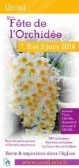 flyer fete orchidees 2014