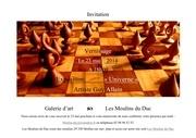 invitation exposition guy allain 23 mai 2014