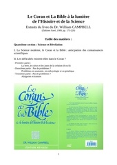 refutation miracles scientifiques coran campbell bucaille