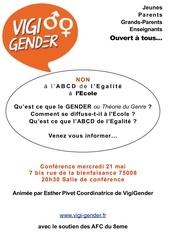 tract vigi gender 21 mai 2014