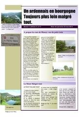 un ardennais en bourgogne journal mensuel mai 2014