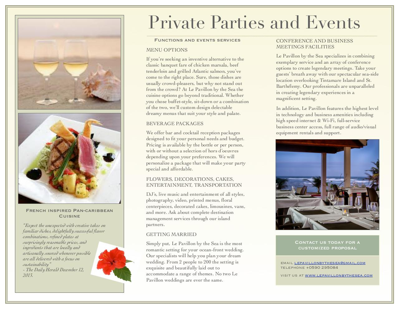 Party Brochure.pdf - page 2/2
