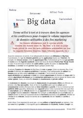 big data les donnees informatiques sont le nouveau petrole