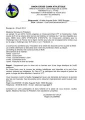 invitation club cani 14 juin 2014