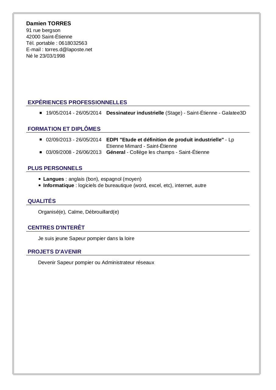 cv pdf par tcpdf