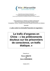 Fichier PDF le trafic d organes chinois