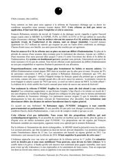 lettre aux non grevistes