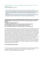 Fichier PDF malocclusions et scolioses idiopathiques adolescentes