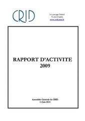 Fichier PDF ra crid 2009 vf avec annexes