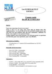 tract dp elt lc du 13 mai 2014